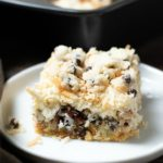 Gluten Free Cookie Dough 7 Layer Magic Bars