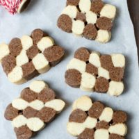 Gluten Free Czech Black and White Cookies