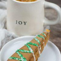 Gluten Free Gingerbread Biscotti