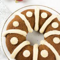 Gluten Free Gingerbread Bundt Cake
