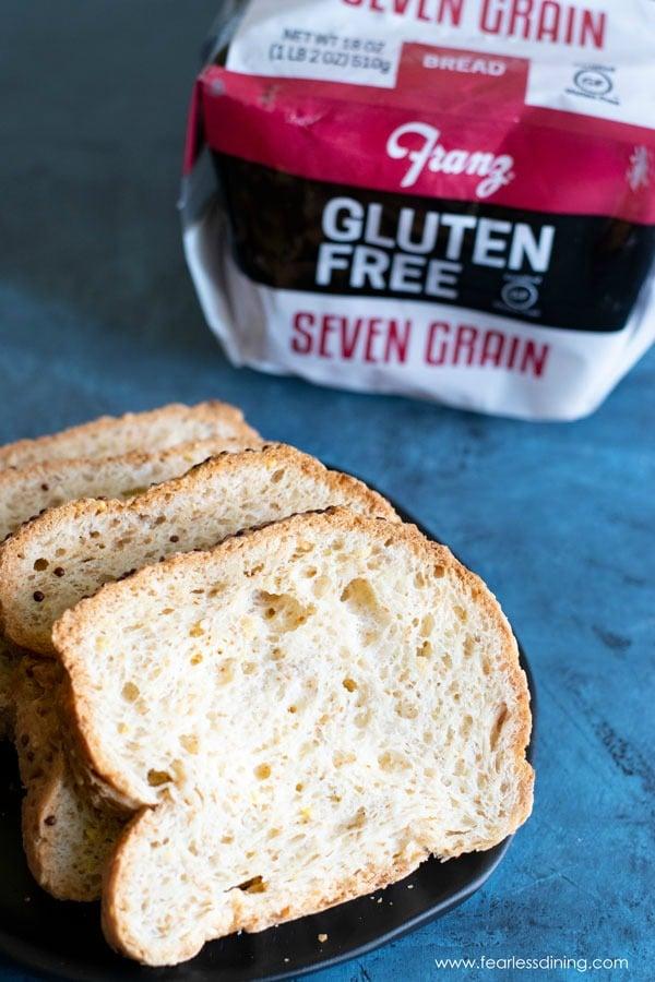 Franz slices of gluten free bread