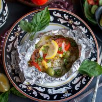 Mediterranean Red Snapper Packets - Healthy World Cuisine