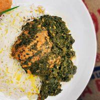 Salmon & Cilantro Stew (Ghalieh Mahi)