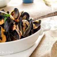 Mussels Recipe with Fennel & Tomato Broth