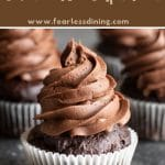 a pinterest collage pin of the cupcakes photo