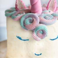 Gluten Free Unicorn Cake