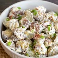 Easy Fresh Herb Gluten Free Potato Salad