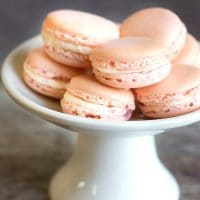 Easy Homemade Raspberry Macarons