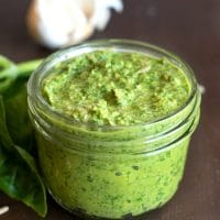 Quick and Easy Nut-Free Pesto Sauce
