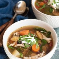 Instant Pot Healthy Chicken Soup