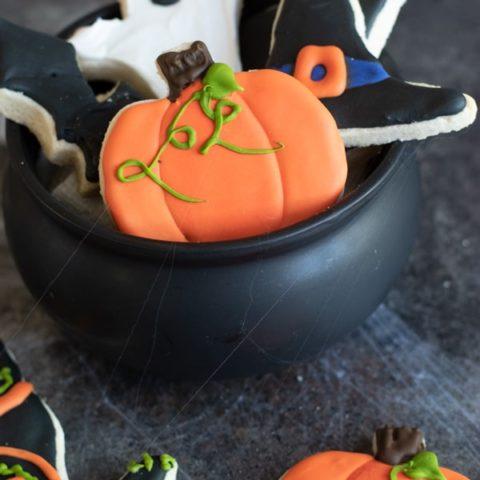 Gluten Free Halloween Cut Out Cookies