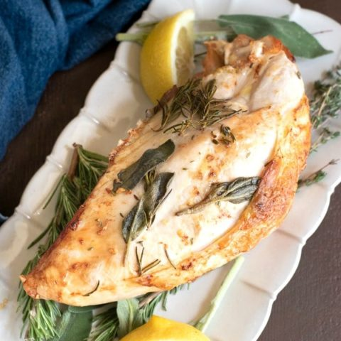 Easy Air Fryer Turkey Breast For Two Fearless Dining