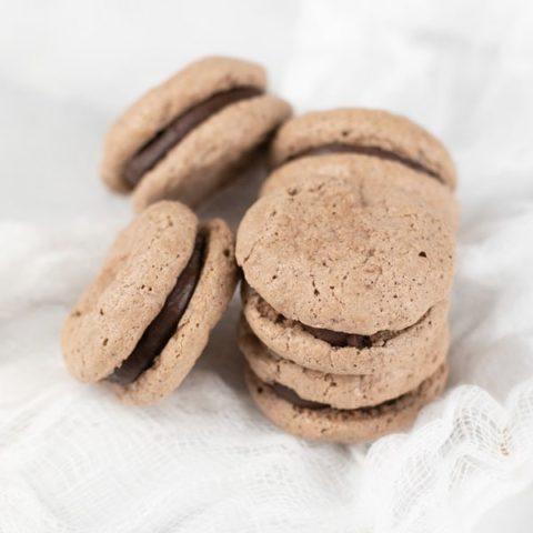 Gluten-Free Chocolate Macarons Recipe
