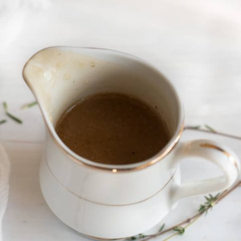Quick and Easy Gluten Free Gravy