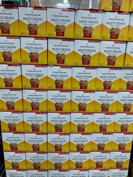 crunchmaster gluten free crackers