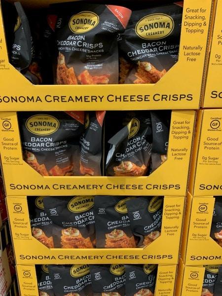 sonoma cheese crisps at costco