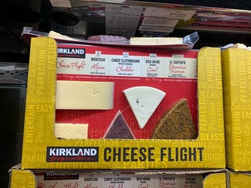 kirkland cheese flight