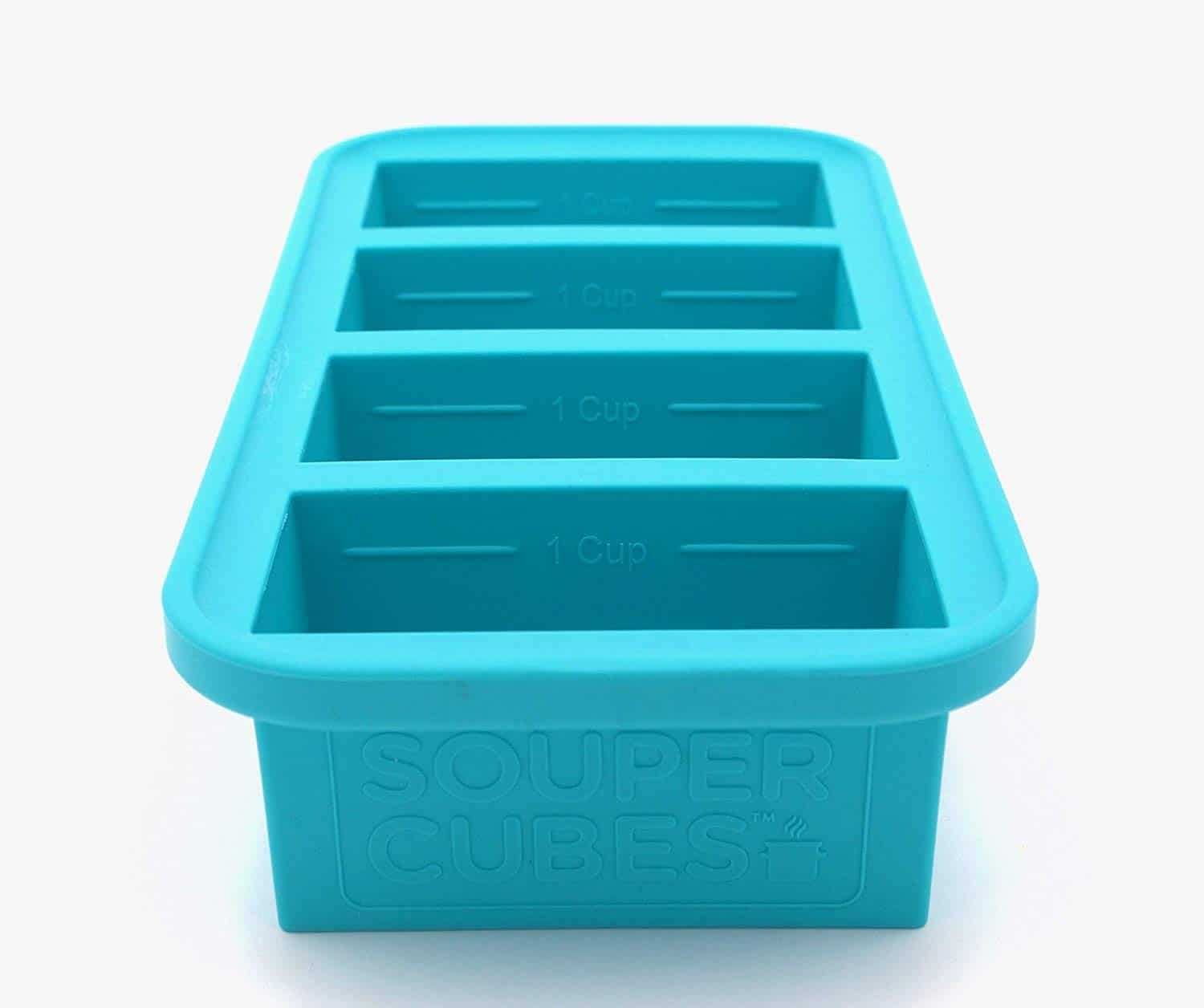 a product I love to use to freeze soup and pasta sauce called souper cubes
