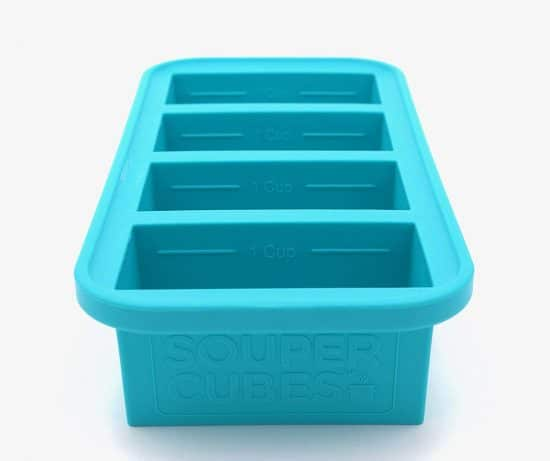a soup freezer container