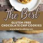a pinterest collage of cookies