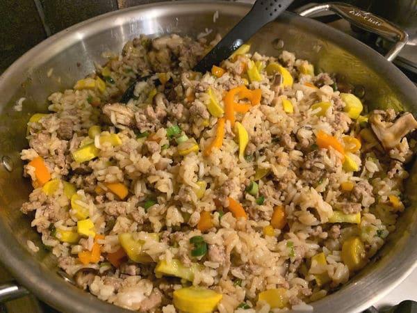 ready to serve fried rice