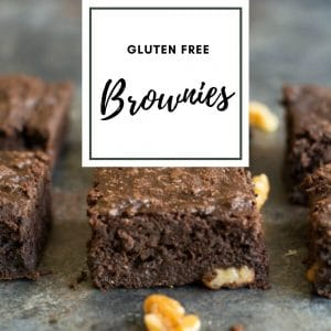 Gluten Free Brownies and Fudge