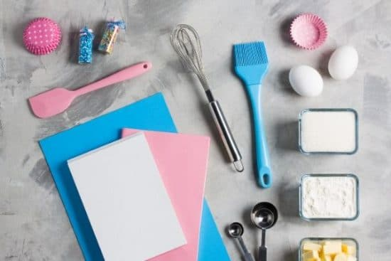 a photo of a kids' baking set