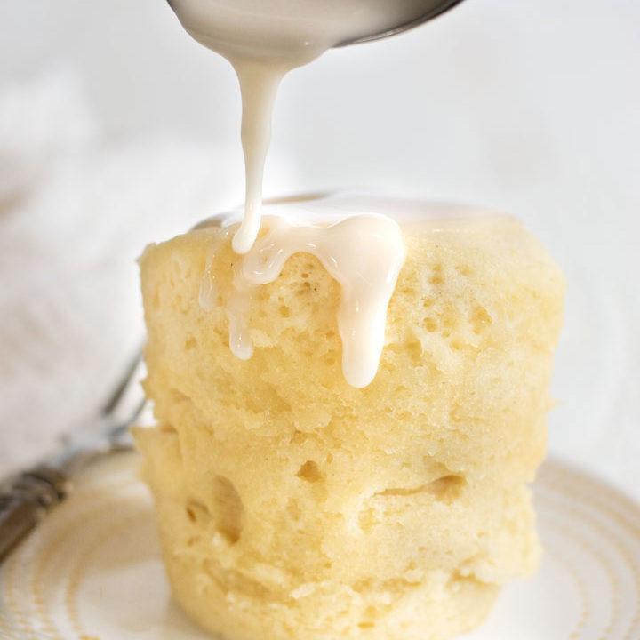 Gluten Free Lemon Mug Cake - Fearless Dining
