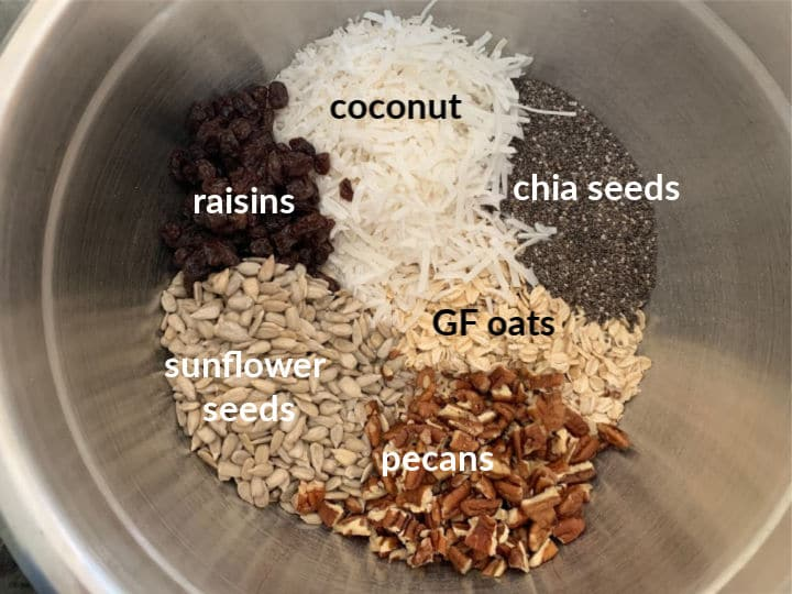 a photo with all of the ingredients labeled in a bowl ready to mix