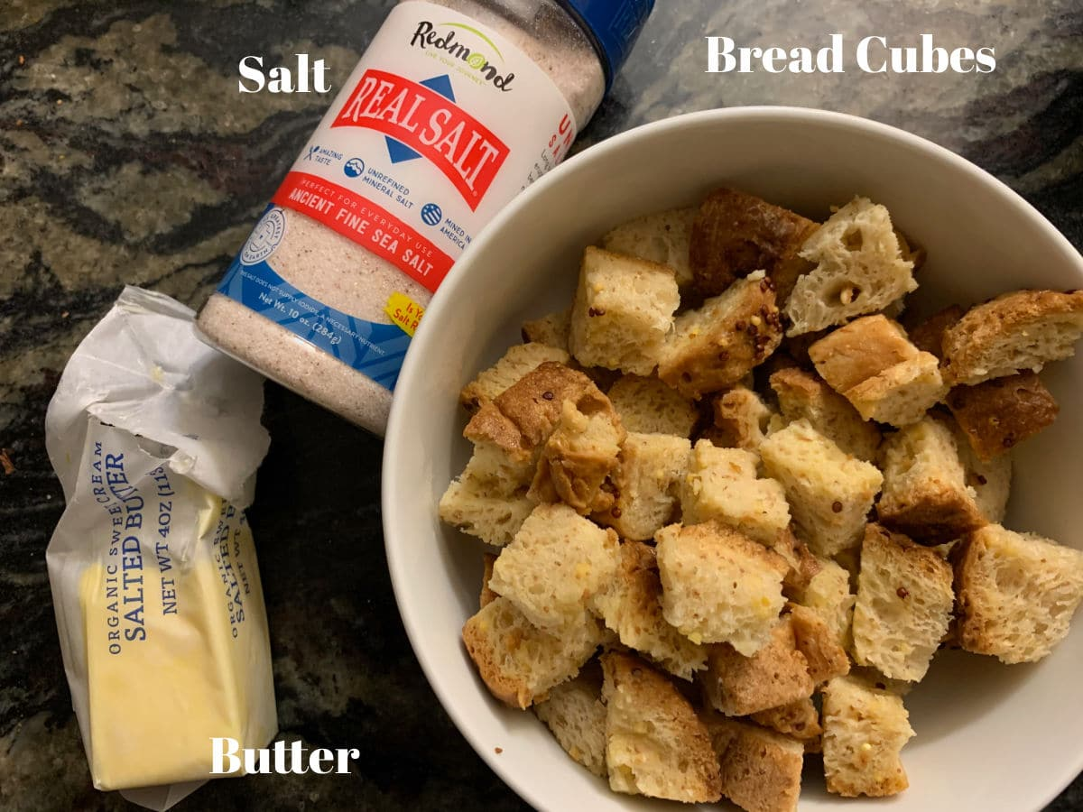 gluten free croutons ingredients picture