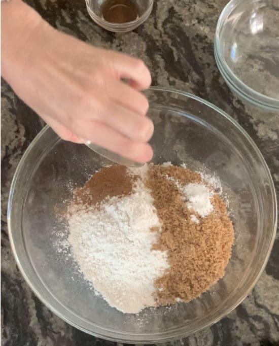 pumpkin cookie dry ingredients