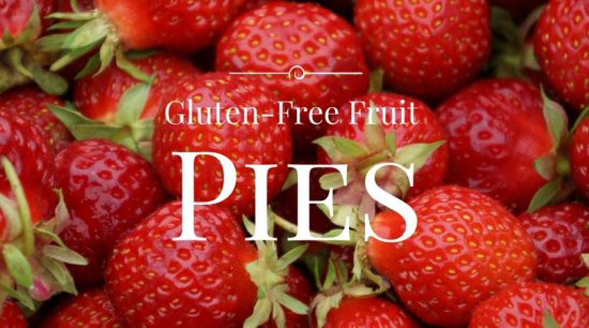 a picture of strawberries for a pie