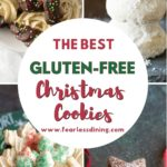 a pinterest collage of Christmas cookie photos