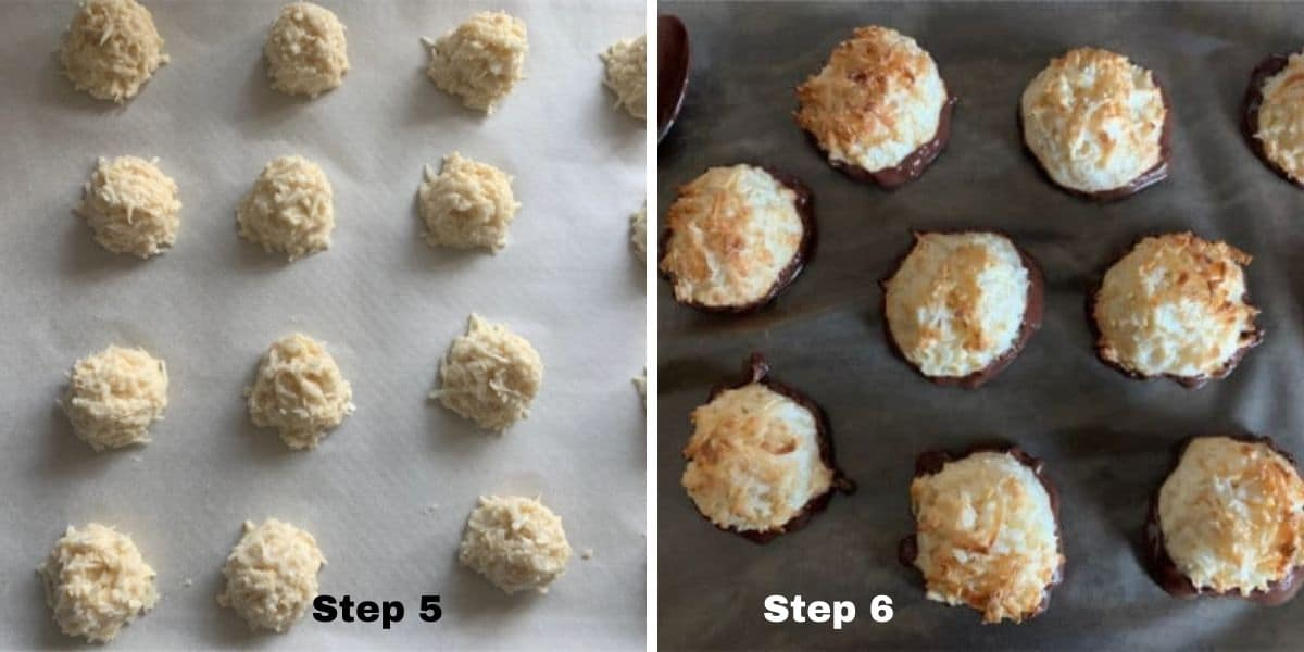 macaroons steps 5 and 6 photos