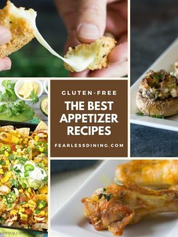a roundup of appetizer photos