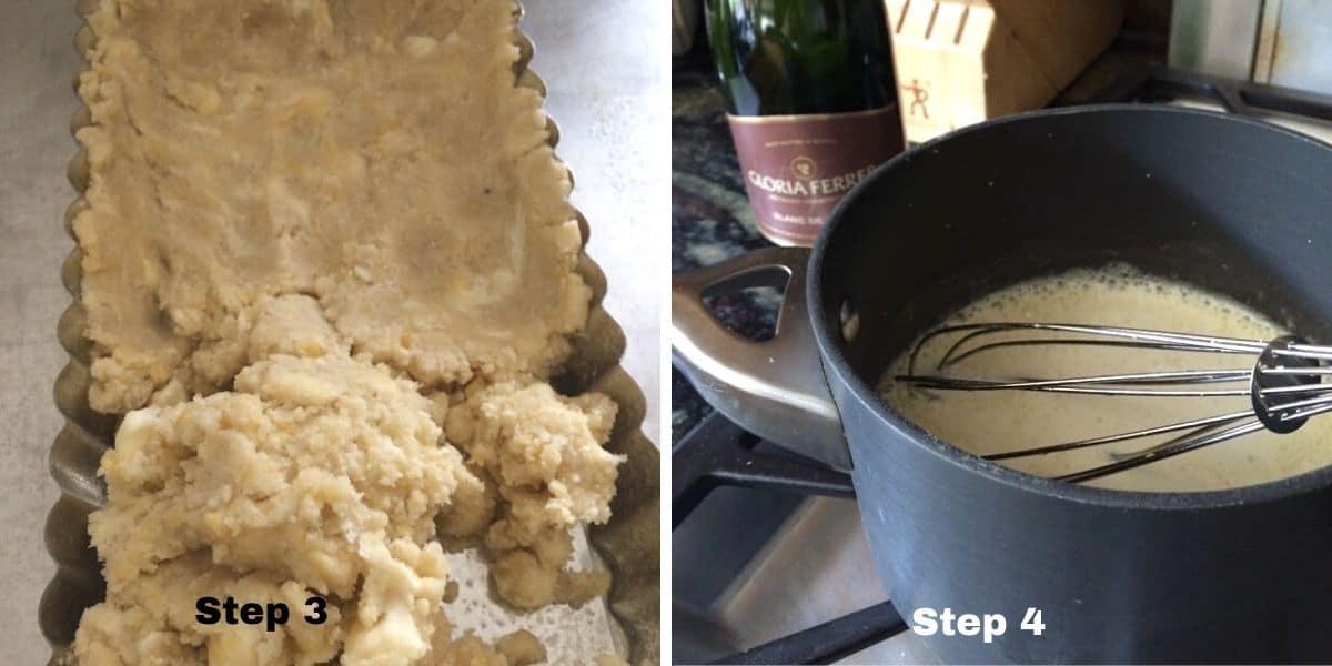 lemon tart steps 3 and 4 photos