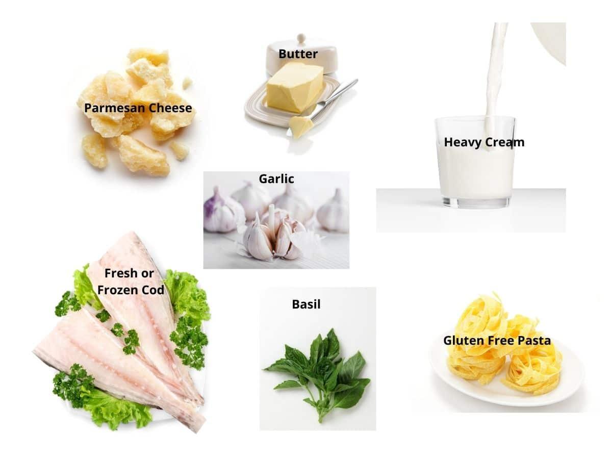 alfredo recipe ingredients