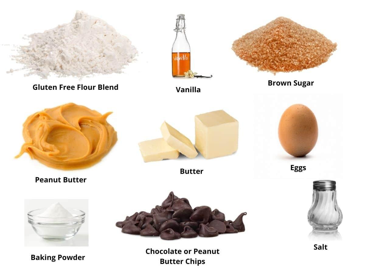 Blondies ingredients