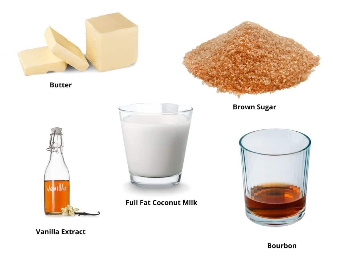 bourbon butterscotch sauce ingredients