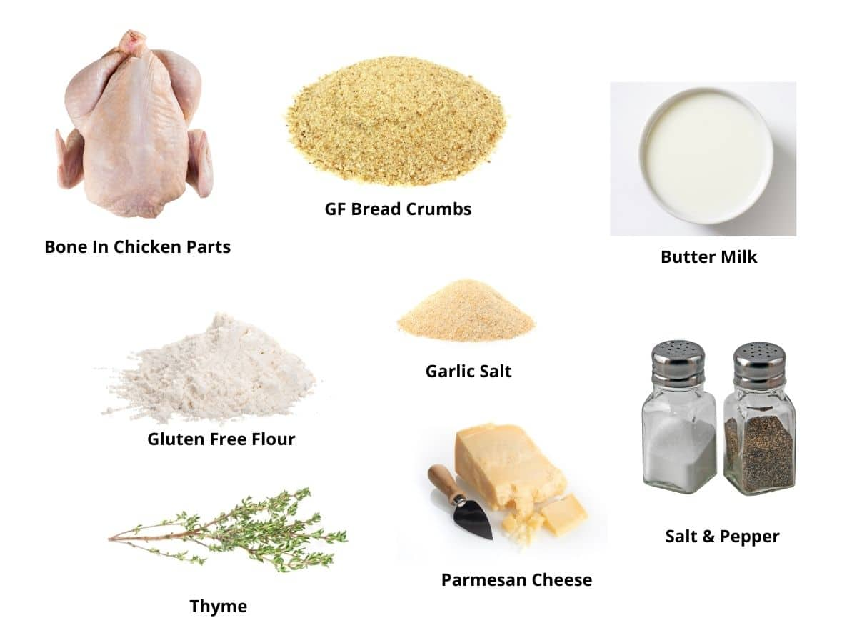 oven chicken ingredients