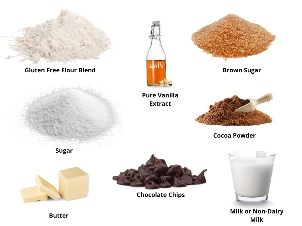edible chocolate cookie dough ingredients