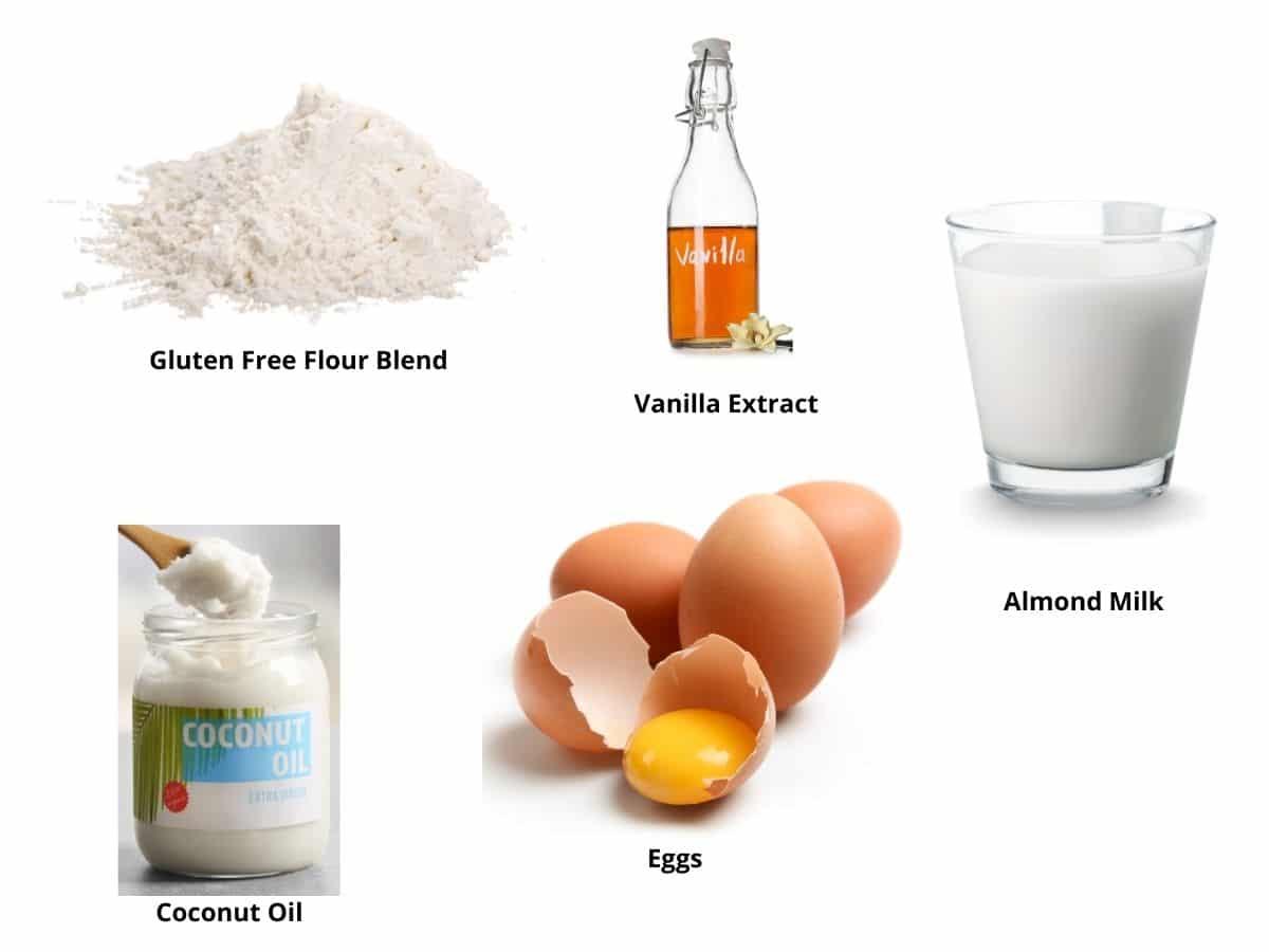 gluten free dairy free crepes ingredients