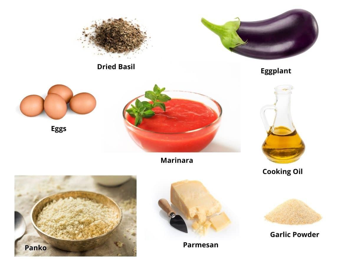 crispy eggplant ingredients