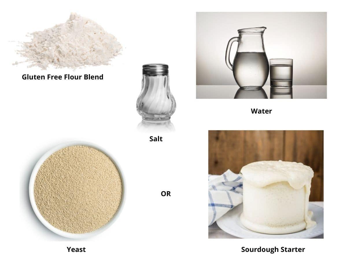 gluten free breadsticks ingredients