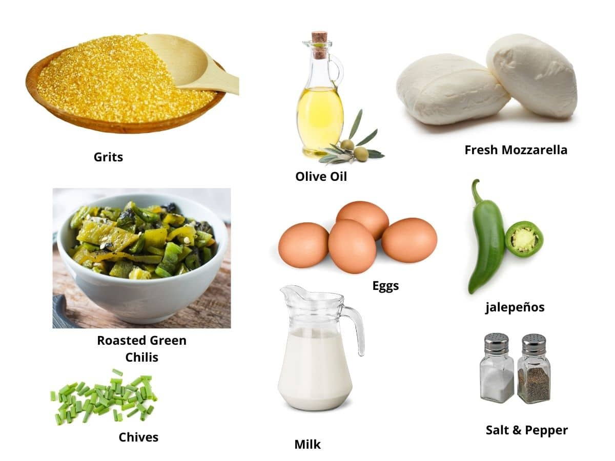 grits and eggs ingredients