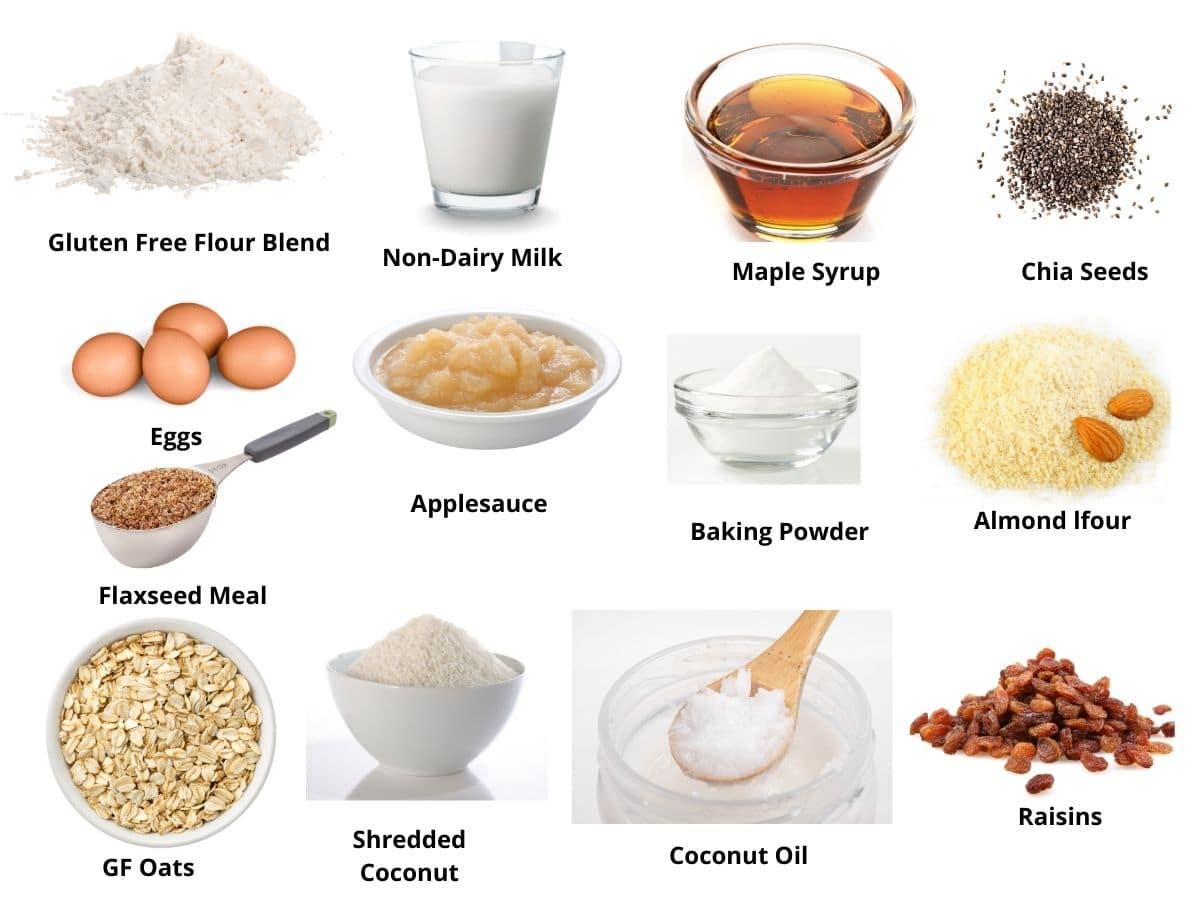 healthy donut ingredients