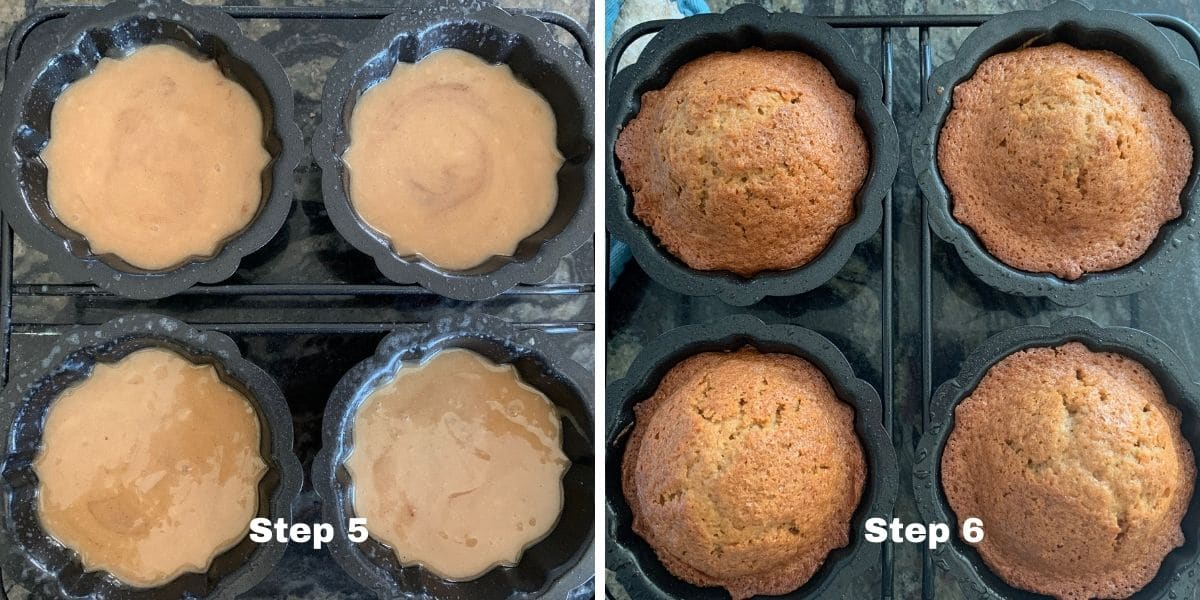 honey cakes steps 5 and 6 photos