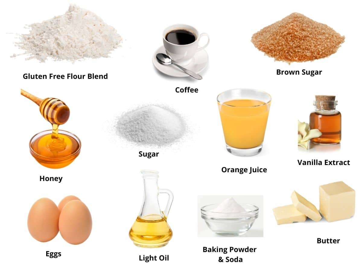 honey cake ingredients