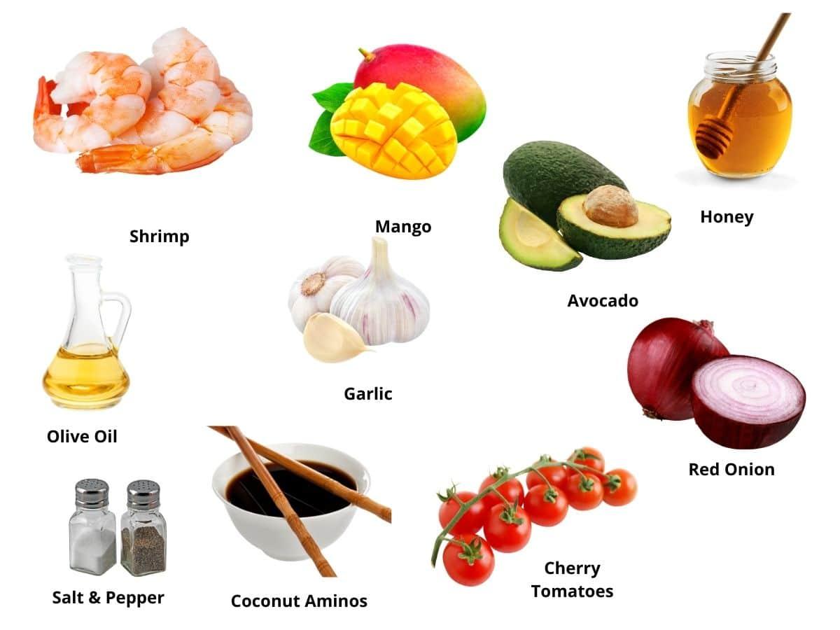 honey garlic shrimp ingredients