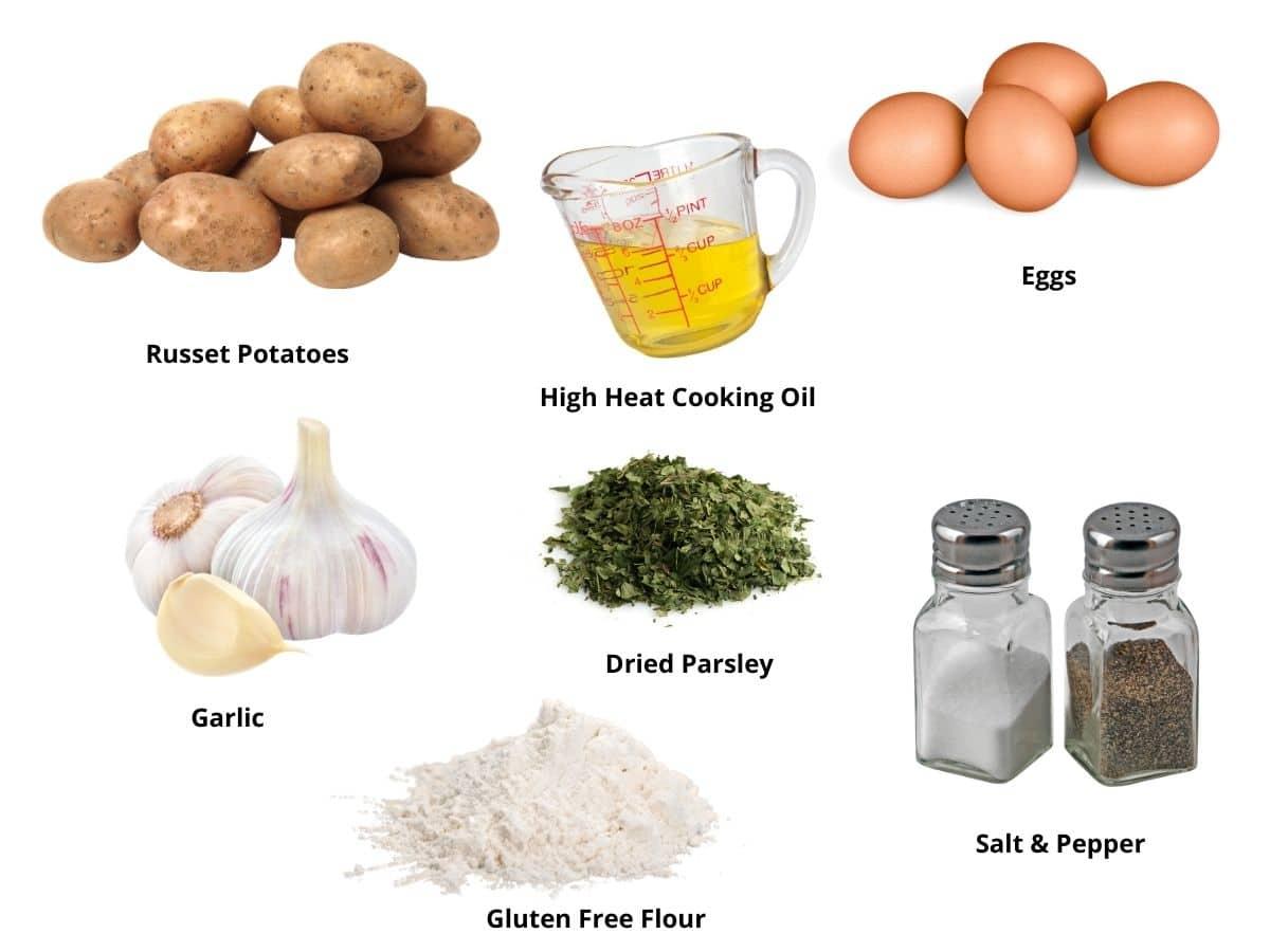 potato latkes ingredients